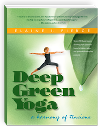Deep Green Yoga Book Cover